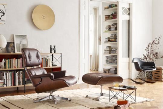 Eames Lounge Chair & Ottoman Vitra - Eames lounge 2