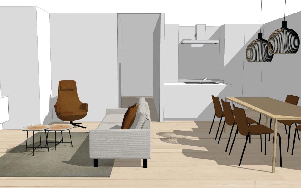 Appartement te Tielt - Project32
