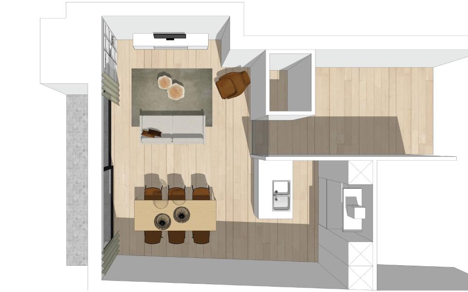 Appartement te Tielt - Project33