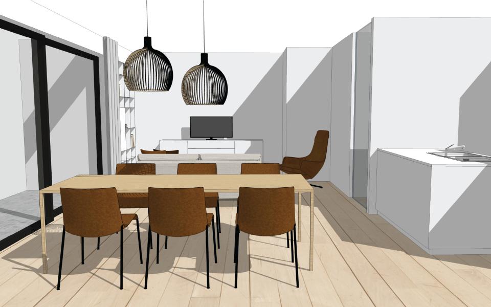 Appartement te Tielt - Project3