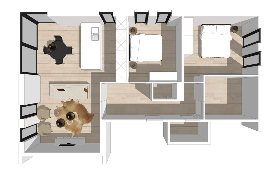 Appartement te Zottegem