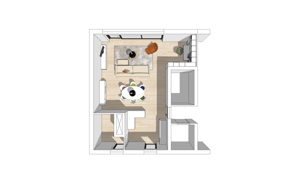 Appartement te Aalst - Tt