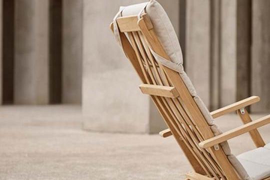 BM5568 Deck Chair Carl Hansen & Son - Bm 5568 dek chair