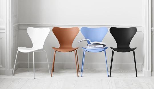 Vlinderstoel - Series7 Fritz Hansen