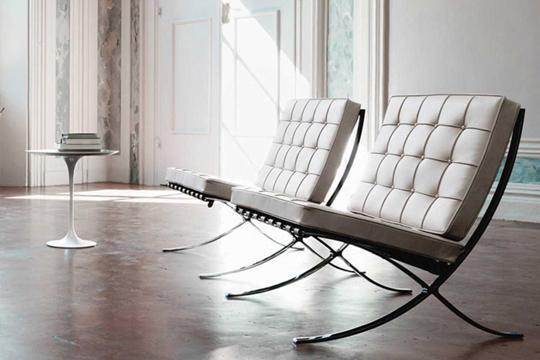Barcelona chair Knoll - Barcelona2
