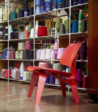 LCW Lounge Chair Wood Vitra - Lcw