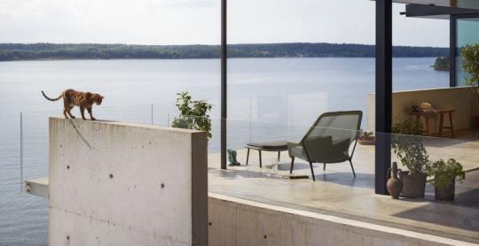 Slow Chair & Ottoman Vitra - Slow chair ottoman 823160 preview