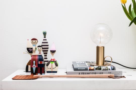 Wooden Dolls Vitra - Alexander girard - vitra - wooden dolls