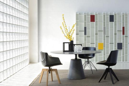 Flow Chair MDF Italia - Slider flowslim 09