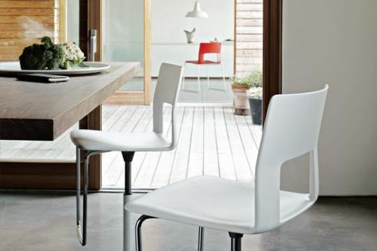 Kobe tafel en stoelen Desalto - Desalto kobe2