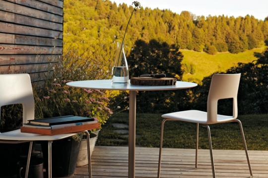 Kobe tafel en stoelen Desalto - Desalto kobe